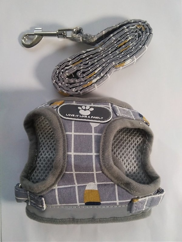 Love it like a family-puppy harness (grey)