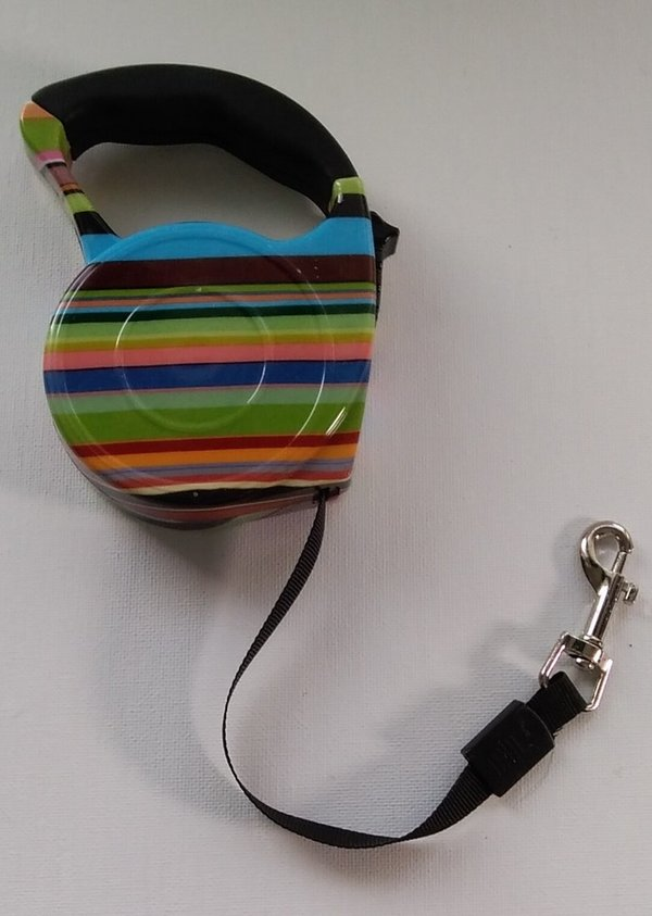 automatic leash 3 m ( stripe)