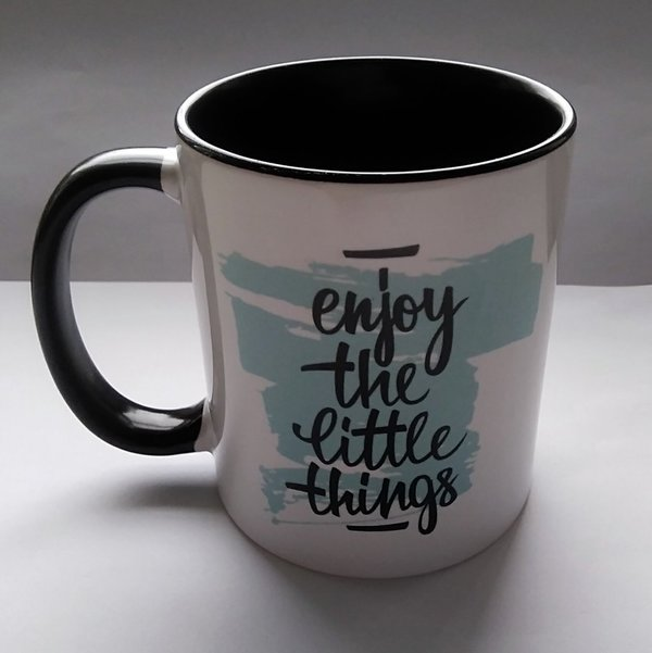 Enjoy the little things- mug
