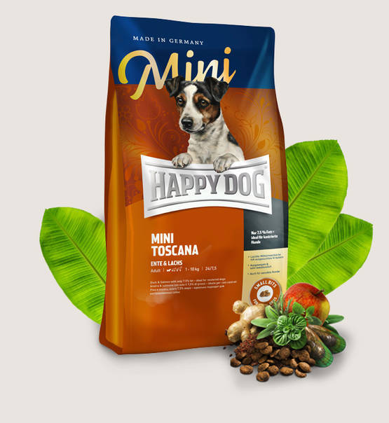 Happy Dog mini Toscana, 4 kg